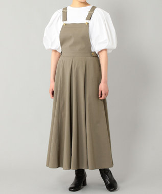 GRACE CONTINENTAL フレアジャンパースカート
