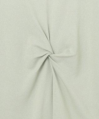 any SiS S 【洗える】ツイストポイントチュニック ニット ミント