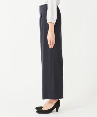 any SiS L 【セットアップ対応】セレモニーダブルクロス ワイド パンツ ネイビー