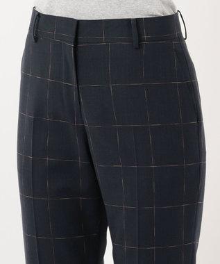 Paul Smith 【セットアップ対応】カスリライトウェイト スーツ パンツ ネイビー系4