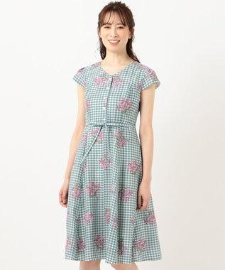 TOCCA 【洗える!】MUGET ドレス サックスブルー系7