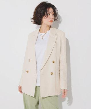 23区 S 【ONWARD MAG】フレンチ スリーブ  IT Tシャツ ホワイト系