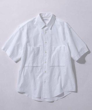 23区 【ユニセックス】CANCLINI 半袖シャツ ホワイト系