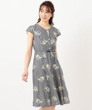 TOCCA 【洗える!】MUGET ドレス ネイビー系7