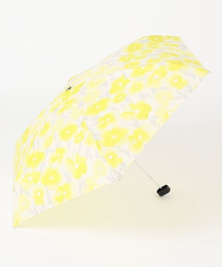 ONWARD CROSSET STORE 【Wpc】GRADATION FLOWER mini 雨天兼用折傘・ポーチ型収納ケース付 イエロー