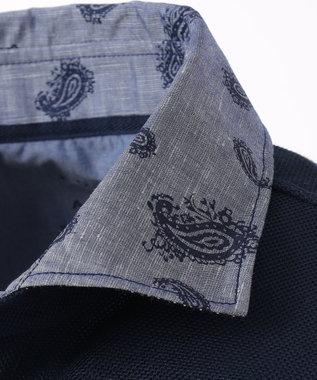 JOSEPH ABBOUD OGクールダディ ポロシャツ ネイビー系5