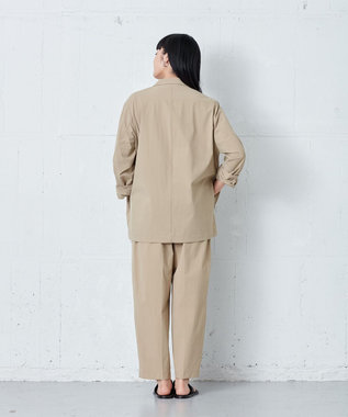 ONWARD Design Diversity 【IIQUAL】ストレッチ ワイドパンツ ベージュ系