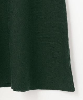 #Newans 【洗える】スムースコットンマーメイドスカート ダークグリーン系