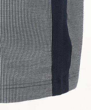 JOSEPH ABBOUD 【キングサイズ】JCミニサッカー ポロシャツ ネイビー系1