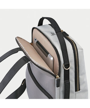 ACE BAGS & LUGGAGE 《カナナプロジェクト》リュックサック A4/13inch 2気室 SP-2 31733 ライトグレー
