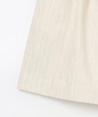 GRACE CONTINENTAL 麻混ショートパンツ キナリ