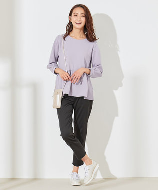 any SiS L 【洗える】エバービューティ パンツ ブラック系