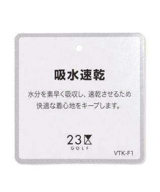 23区GOLF 【MEN】【Fondation/WEB限定】【吸汗速乾/UV/日本製】ポロシャツ ホワイト系