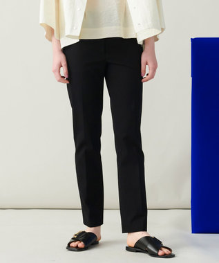 JOSEPH 【洗える】ライトギャバ クロップドパンツ ブラック系