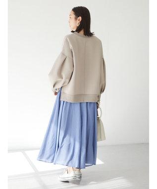 Green Parks ・novem9 10マイハギスカート Blue