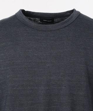 JOSEPH HOMME トップリネン Tシャツ ネイビー系