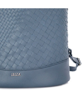 IBIZA エスペシアール 牛革 リュック 紺