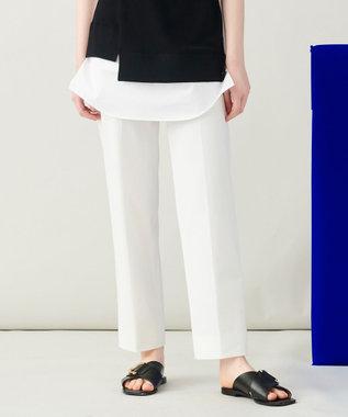 JOSEPH 【 柚香 光さん着用・洗える】ライトギャバ テーパードパンツ ブラック系