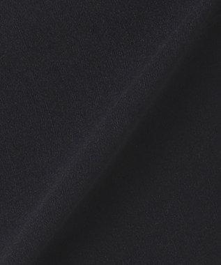 組曲 S 【洗える】バックラッシュリラックス パンツ ブラック系