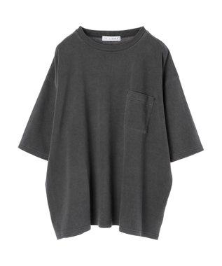 Green Parks 加工ビッグシルエットTシャツ Charcoal Gray