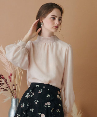 TOCCA 【TOCCA LAVENDER】2way Organdy Blouse ブラウス