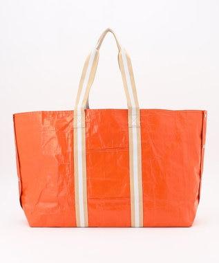 自由区 【UNFILO】レジャーシートバッグ Mサイズ オレンジ系1