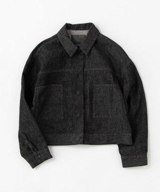 uncrave 【追加販売】デニム ジャケット ブラック