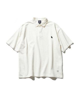 J.PRESS MEN 【大人気】バックブル ラガーポロシャツ ホワイト系