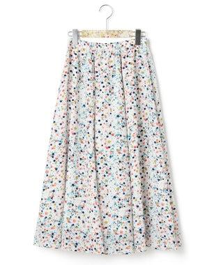平手友梨奈さん着用【SEDUM】フラワープリント ギャザースカート