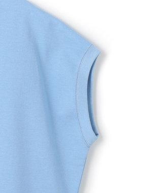 23区 S 【ONWARD MAG】ボリュームコットン フレンチスリーブ TEE(番号2K82) サックスブルー系