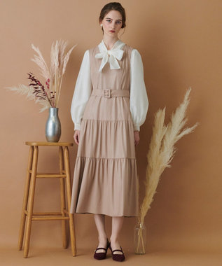 TOCCA 【TOCCA LAVENDER】Import Eco Leather Dress ドレス