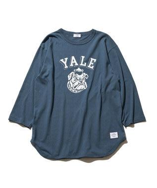 J.PRESS YORK STREET 【UNISEX】YALE × J.PRESS YORK STREET  コラボTシャツ ネイビー系