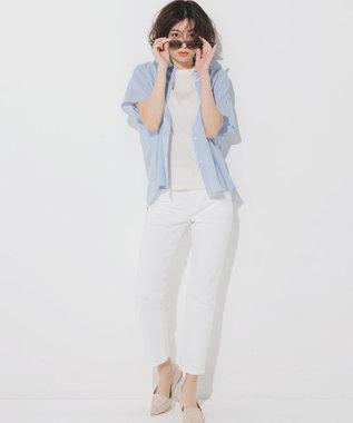 23区 S 【ONWARD MAG】フレンチ スリーブ  IT Tシャツ エクリュ系