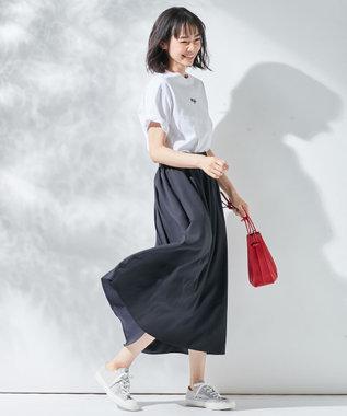 組曲 【FILA別注】ロゴ カットソー  ホワイト系