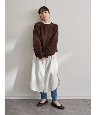 earth music&ecology シャツワンピース Off White