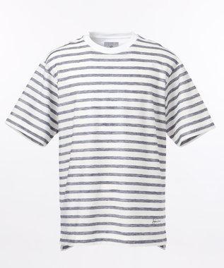 【SPACE】OGリネンボーダー Tシャツ