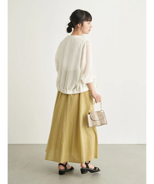 earth music&ecology シアーブルゾン Off White