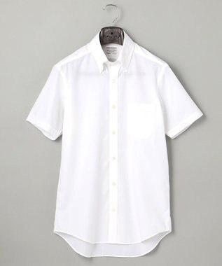 【盛夏用】SUMMER PREMIUMPLEATS_白無地_半袖ドレスシャツ