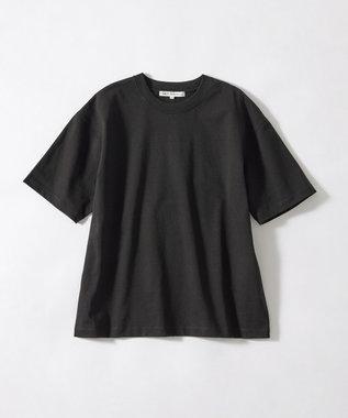 23区 L 【ONWARD MAG】オーバーサイズ コットンクルーネック TEE(番号2K78) ブラック系