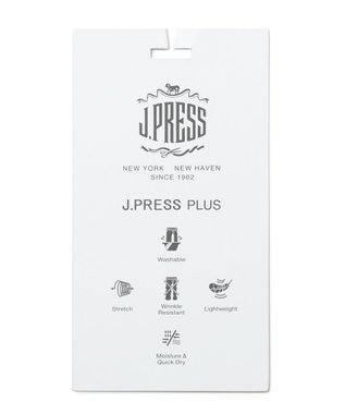 J.PRESS MEN 【J.PRESS PLUS】クールマックスサッカー パンツ ベージュ系