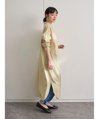 earth music&ecology シャツワンピース Yellow