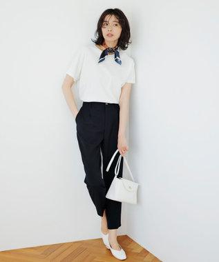 any FAM L 【定番人気】【UVケア】プレミアムベーシック Tシャツ アイボリー系