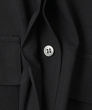 ICB 【洗える】 ThinLight ブラウス ブラック系