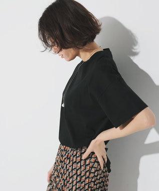 23区 【ONWARD MAG】半袖  IT Tシャツ ブラック系