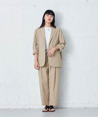 ONWARD Design Diversity 【IIQUAL】ストレッチ シングルジャケット ベージュ系