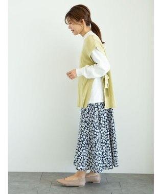 Green Parks ・SUGAR SPOON SET2点ロンT×リブベスト Yellow
