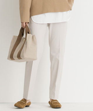 23区 【先行予約】TRストレッチギャバ テーパード パンツ
