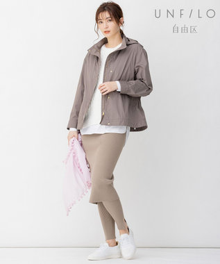 自由区 【UNFILO/Sサイズ有】ロングスリーブ Tシャツ ホワイト系