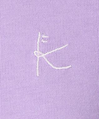 組曲 KIDS 【150-170cm】21/ー天竺 カットソー ラベンダー系