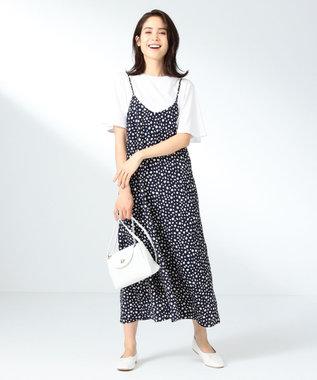 any FAM 楊柳 キャミワンピース ネイビー系5